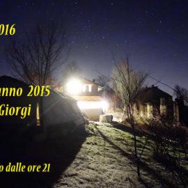 Capodanno 2016 a Casa Giorgi