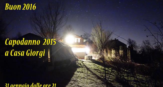 Capodanno a Casa Giorgi