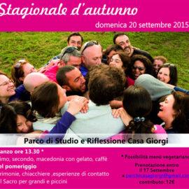 Festa stagionale 20 settembre 2015