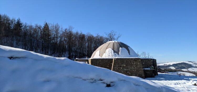 Casa Giorgi con la neve
